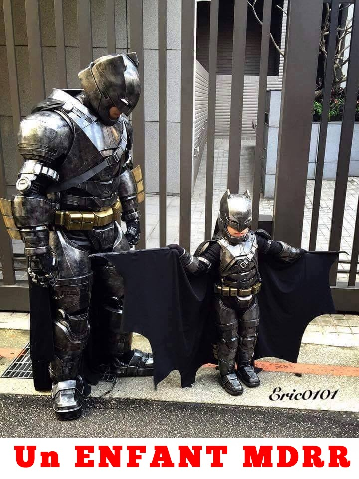 Image enfant batman